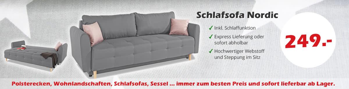 Sofas & Couches günstig kaufen | Sofas zum halben Preis