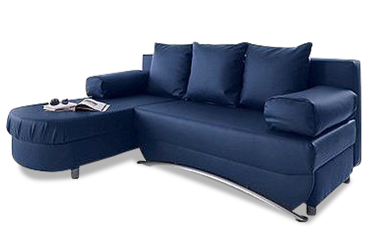 ecksofa mit schlaffunktion blau sofas zum halben preis. Black Bedroom Furniture Sets. Home Design Ideas