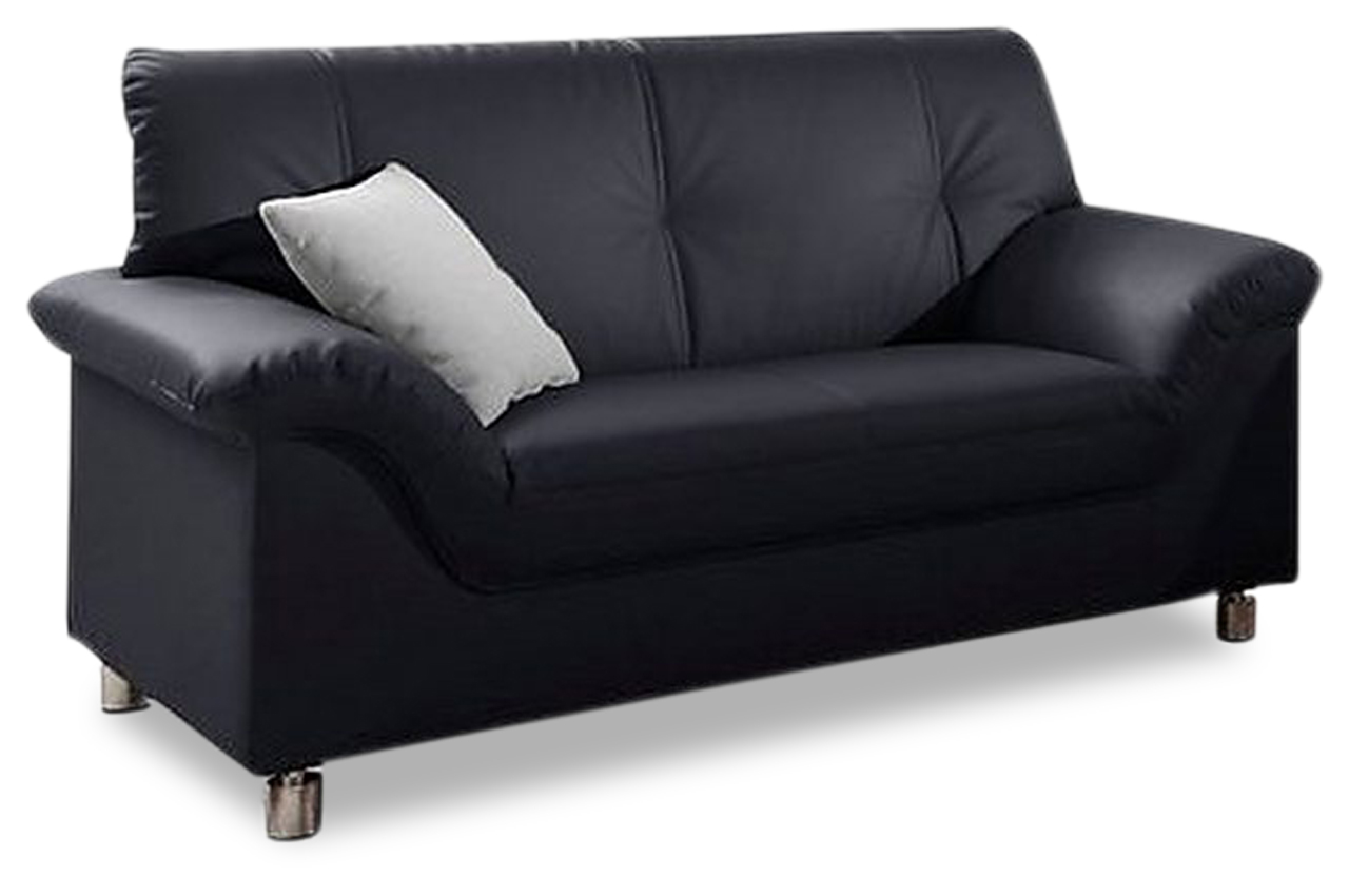 2er sofa dole schwarz sofas zum halben preis. Black Bedroom Furniture Sets. Home Design Ideas