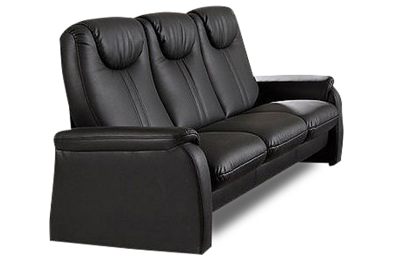 3er sofa mit schlaffunktion schwarz sofas zum halben preis. Black Bedroom Furniture Sets. Home Design Ideas