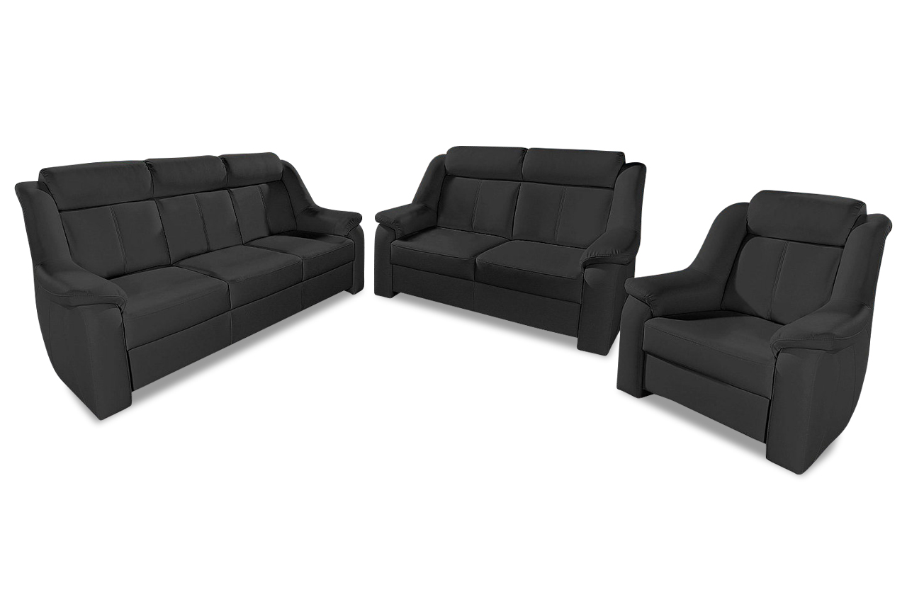 sit more garnitur basel 3er 2er sessel sofas zum halben. Black Bedroom Furniture Sets. Home Design Ideas