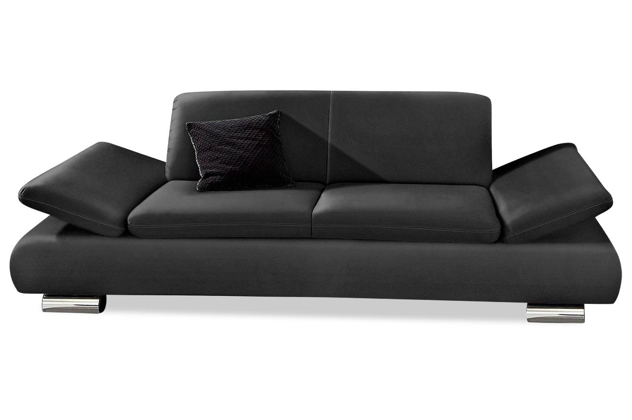 max winzer 2er sofa toulouse schwarz sofas zum halben preis. Black Bedroom Furniture Sets. Home Design Ideas