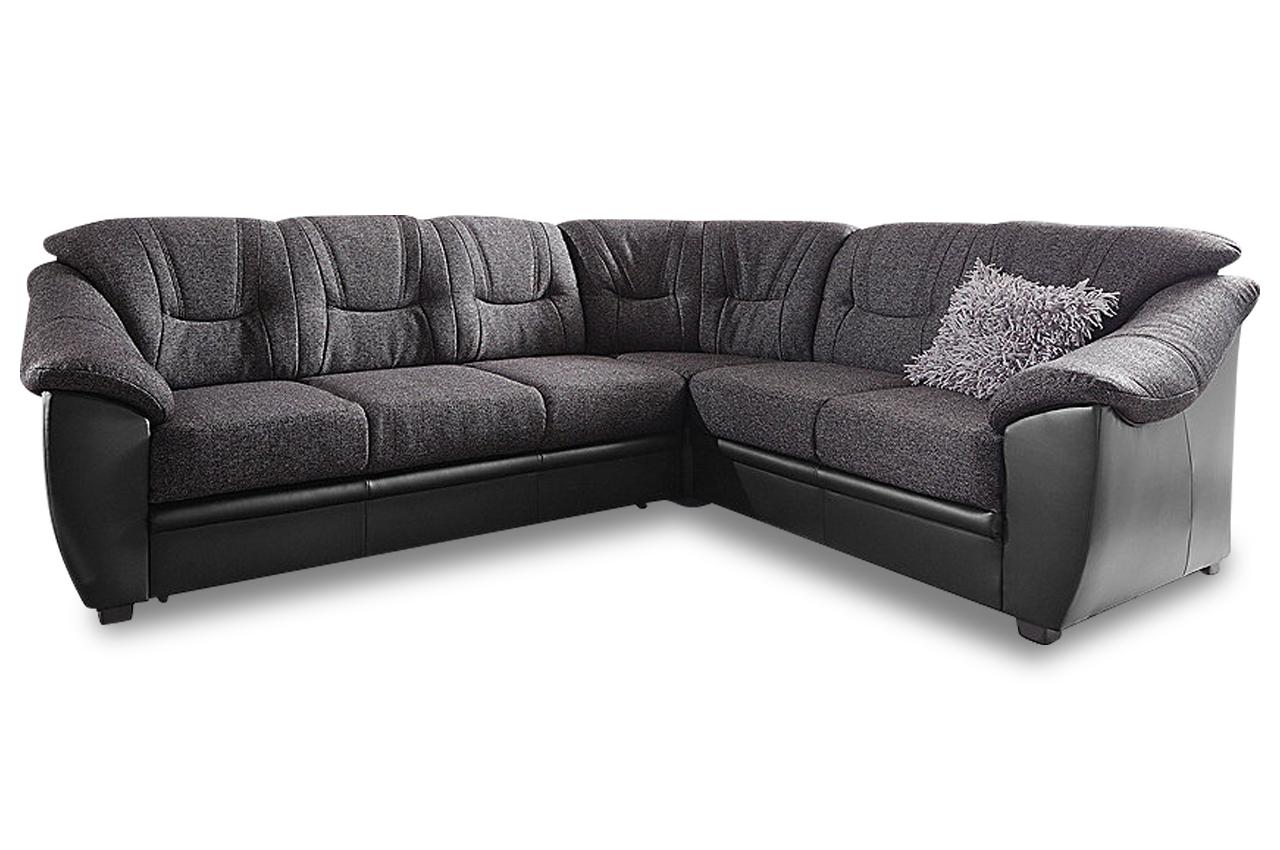 rundecke savona mit schlaffunktion schwarz mit federkern sofas zum halben preis. Black Bedroom Furniture Sets. Home Design Ideas