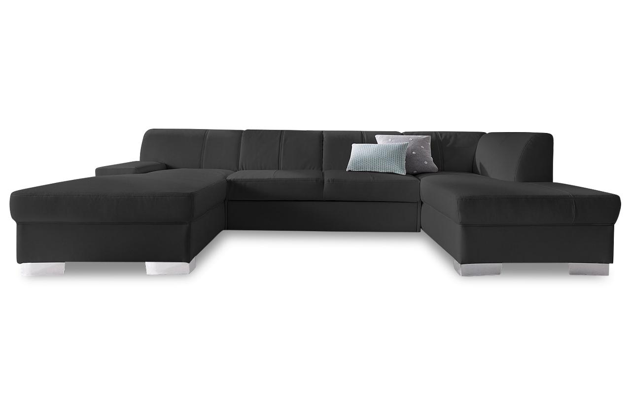 wohnlandschaft star mit bett sofas zum halben preis. Black Bedroom Furniture Sets. Home Design Ideas