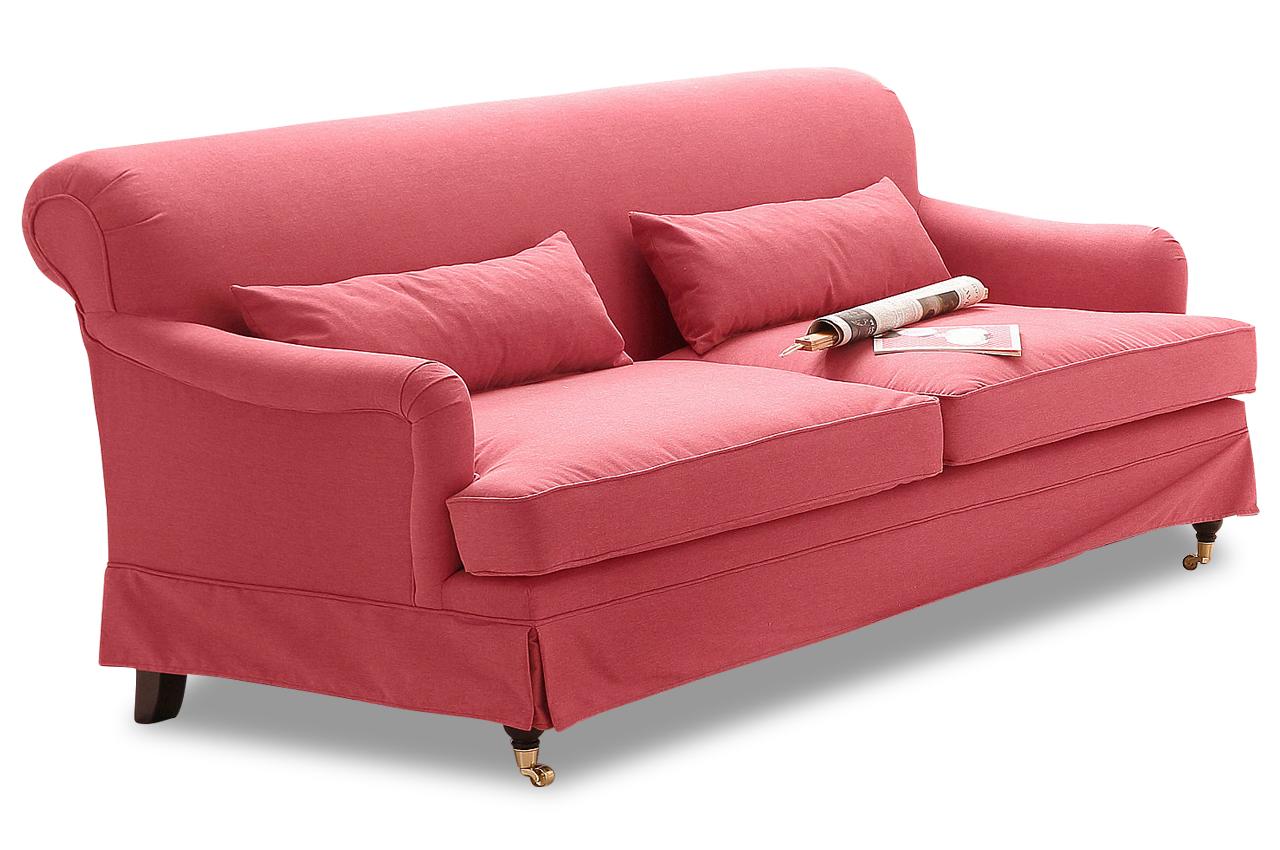stolmar 2er sofa laroca rot sofas zum halben preis. Black Bedroom Furniture Sets. Home Design Ideas