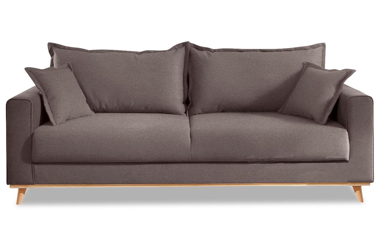 3er Sofa Günstig : stolmar 3er sofa edina braun sofas zum halben preis ~ Indierocktalk.com Haus und Dekorationen
