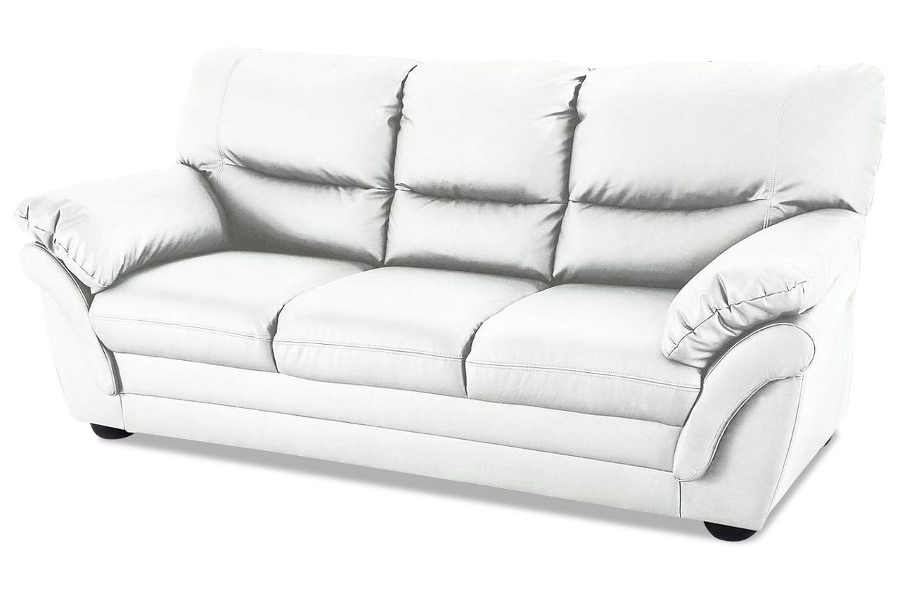 3er sofa rico weiss sofas zum halben preis. Black Bedroom Furniture Sets. Home Design Ideas