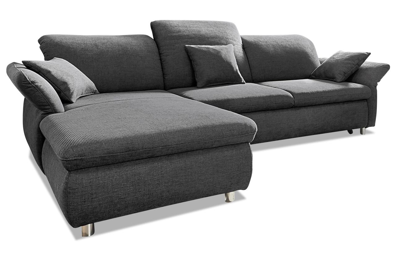 Sofa L-Form Smoothie links - mit Sitzverstellung und ...