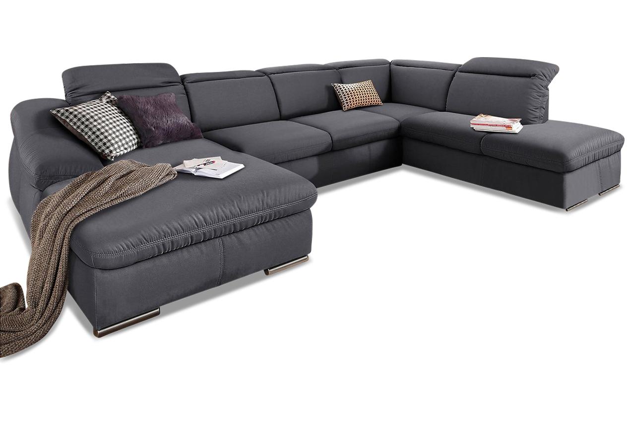wohnlandschaft marilyn braun sofas zum halben preis. Black Bedroom Furniture Sets. Home Design Ideas