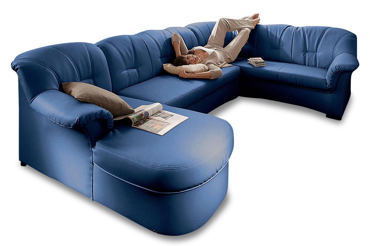 Wohnlandschaft papenburg mit bett sofa couch ecksofa ebay for Wohnlandschaft bett