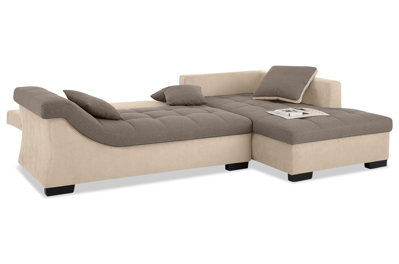 nova via ecksofa barbados creme sofa couch ecksofa. Black Bedroom Furniture Sets. Home Design Ideas