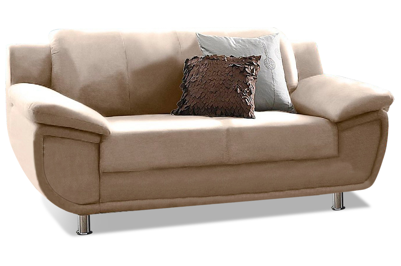 2er sofa rondo creme sofas zum halben preis. Black Bedroom Furniture Sets. Home Design Ideas