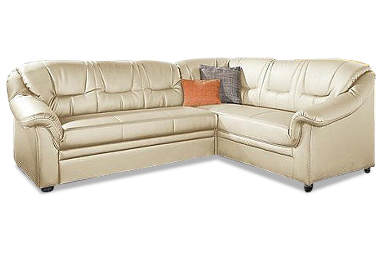 Polsterecke montana mit bett kunstleder sofa couch for Bett mit couch