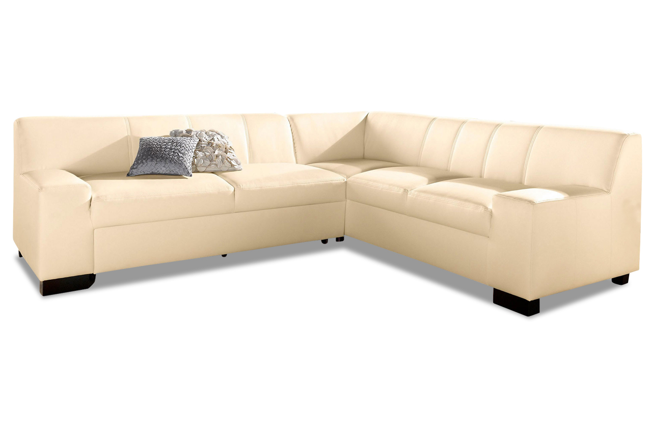 ecksofa xl norma creme sofas zum halben preis. Black Bedroom Furniture Sets. Home Design Ideas