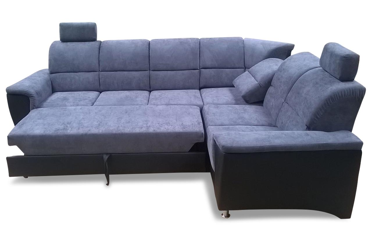 rundecke milano mit relax und schlaffunktion anthrazit mit federkern sofas zum halben preis. Black Bedroom Furniture Sets. Home Design Ideas