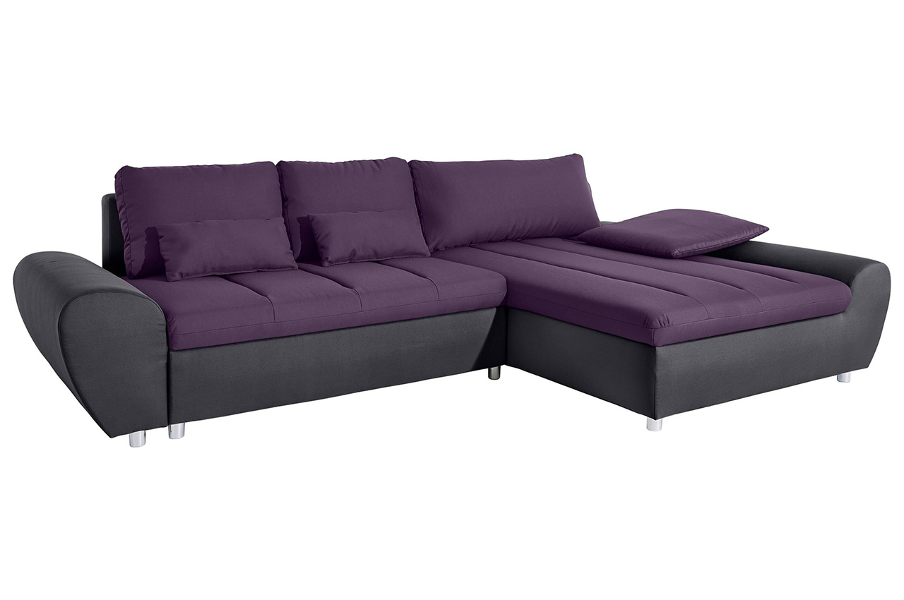 Sofa L-Form rechts - mit Schlaffunktion - Violette | Sofas ...