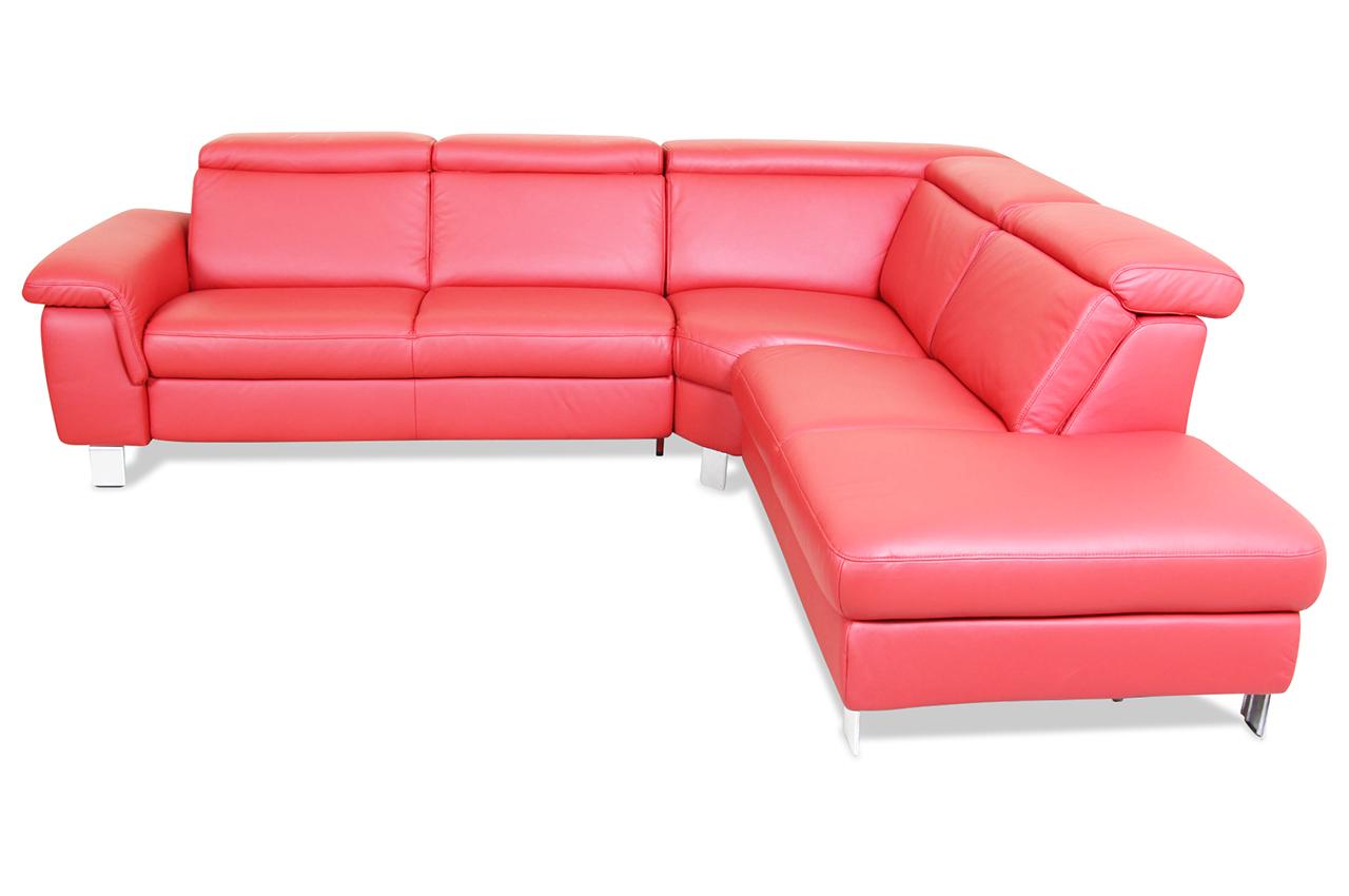 polsteria rundecke 2er ecke 2er lava echt leder sofa. Black Bedroom Furniture Sets. Home Design Ideas