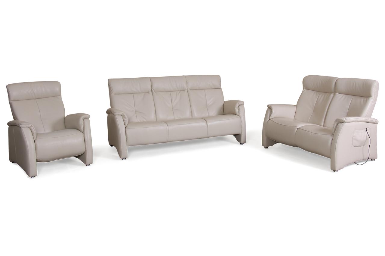 leder garnitur 3 2 1 creme mit federkern sofas zum halben preis. Black Bedroom Furniture Sets. Home Design Ideas