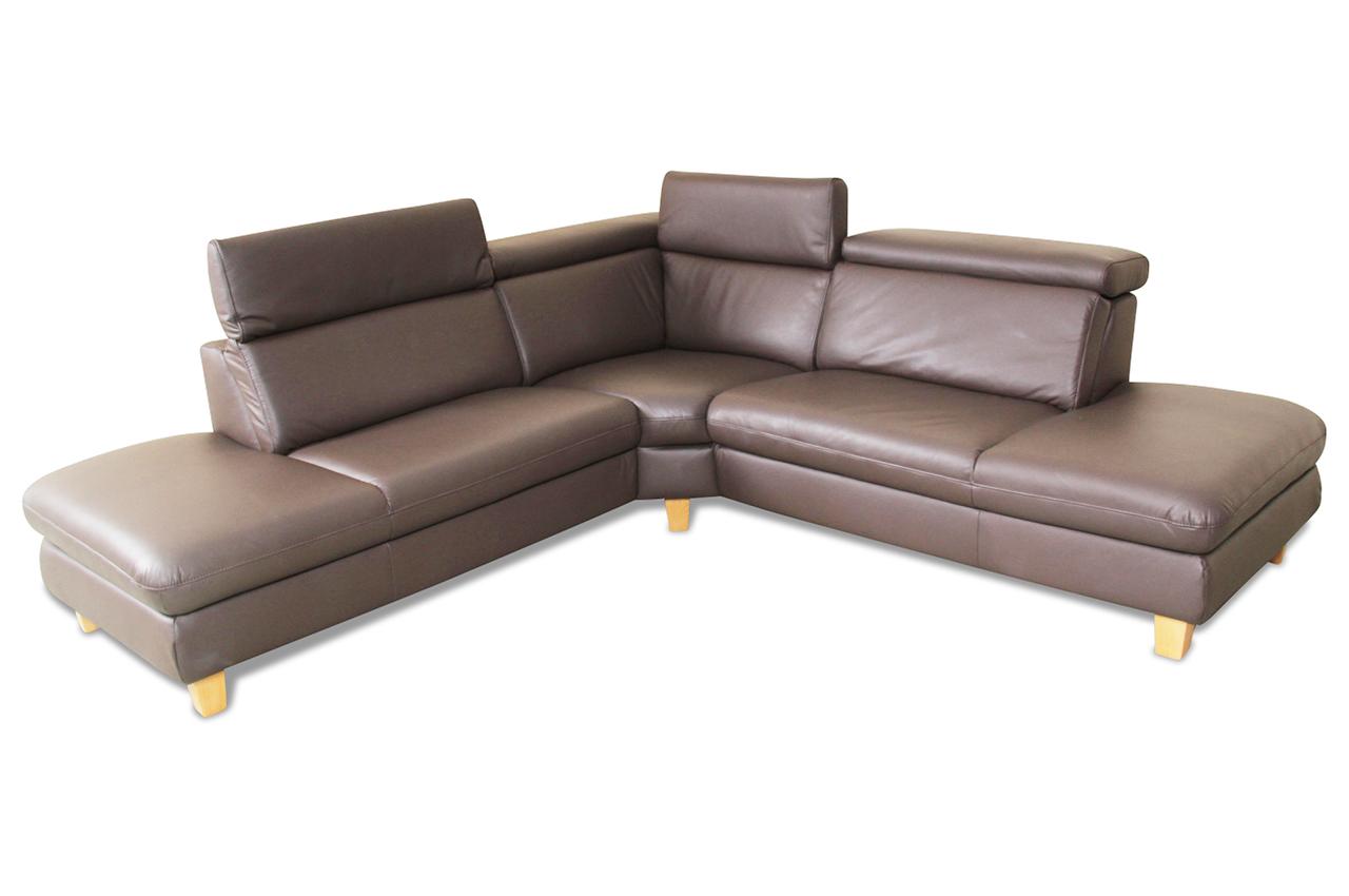 Leder rundecke braun sofas zum halben preis for Fernsehsessel leder braun