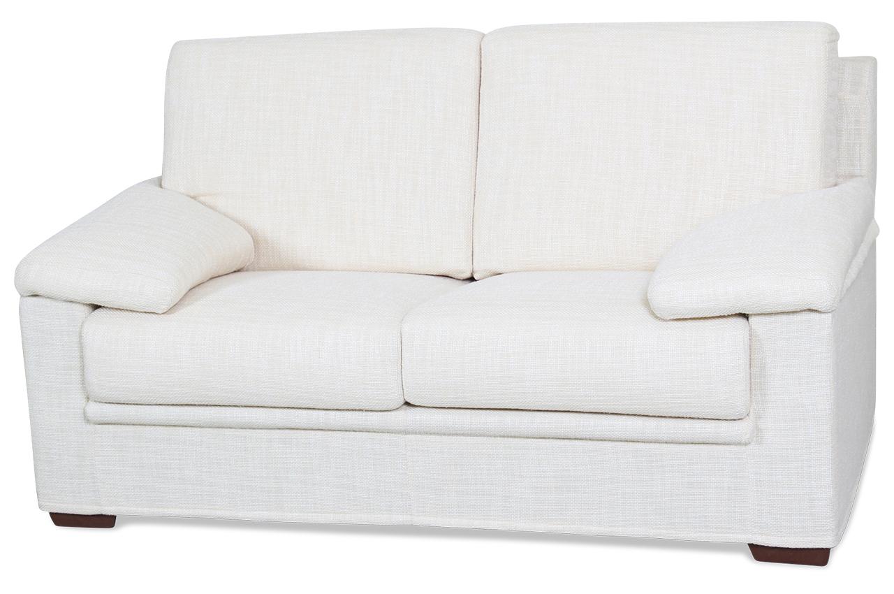 sofa team 2er sofa divani creme mit federkern sofas. Black Bedroom Furniture Sets. Home Design Ideas