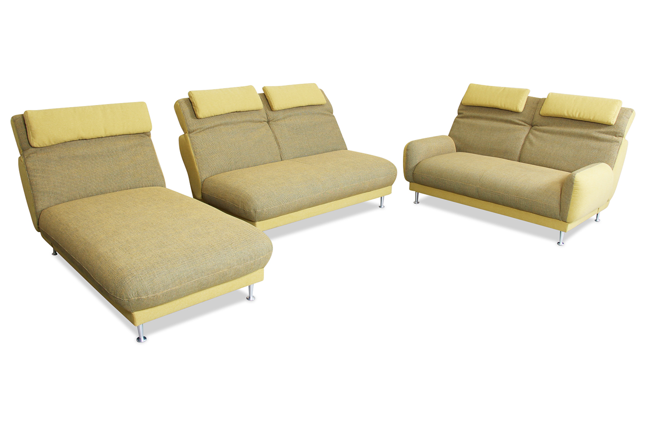 wohnlandschaft bendix gruen mit federkern sofa couch. Black Bedroom Furniture Sets. Home Design Ideas