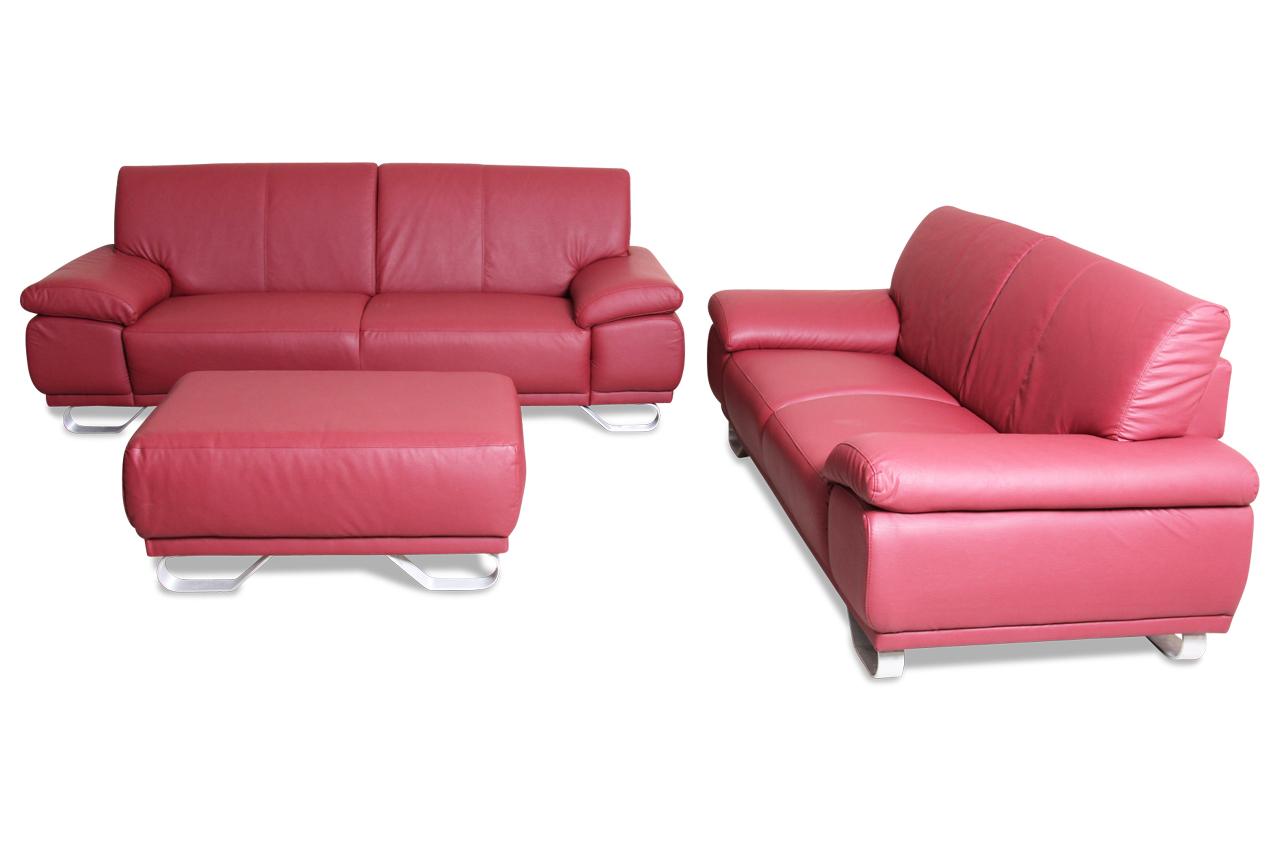 cotta garnitur 3 2 nebolo rot sofas zum halben preis. Black Bedroom Furniture Sets. Home Design Ideas