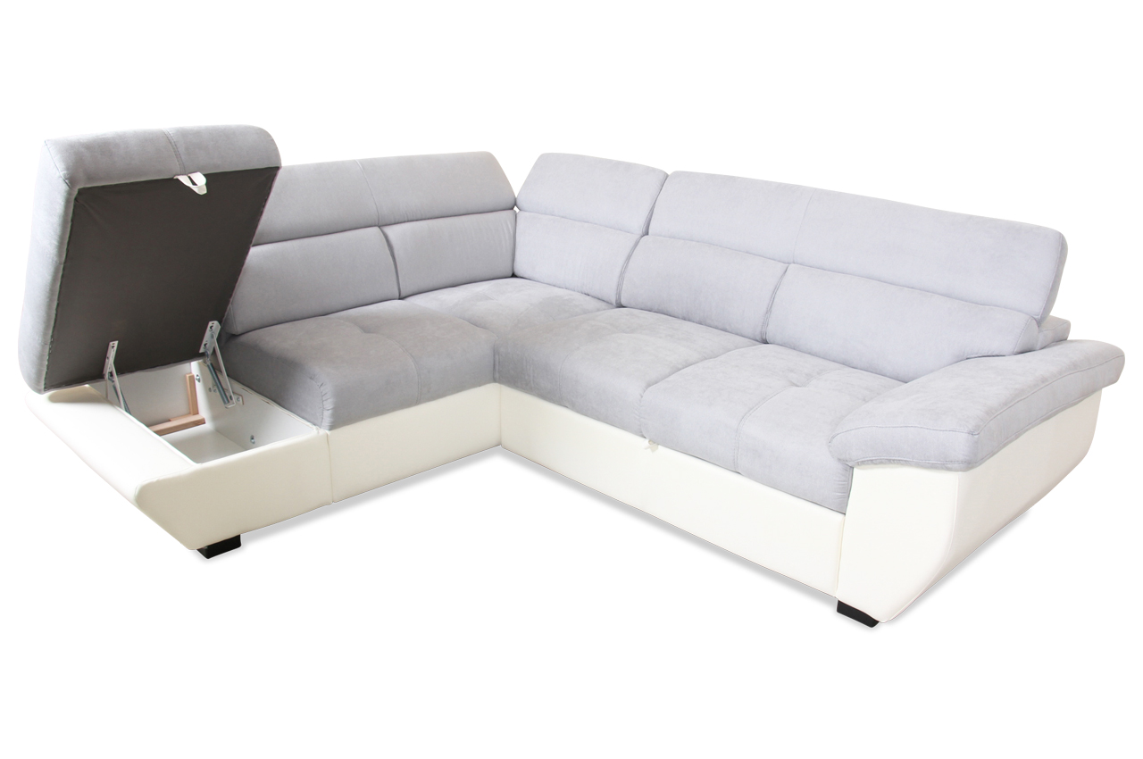 cotta ecksofa xl speedway mit schlaffunktion grau mit federkern sofas zum halben preis. Black Bedroom Furniture Sets. Home Design Ideas