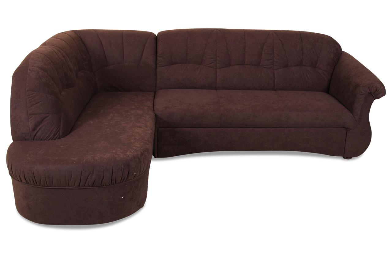 ecksofa xl altona mit schlaffunktion braun mit federkern sofas zum halben preis. Black Bedroom Furniture Sets. Home Design Ideas