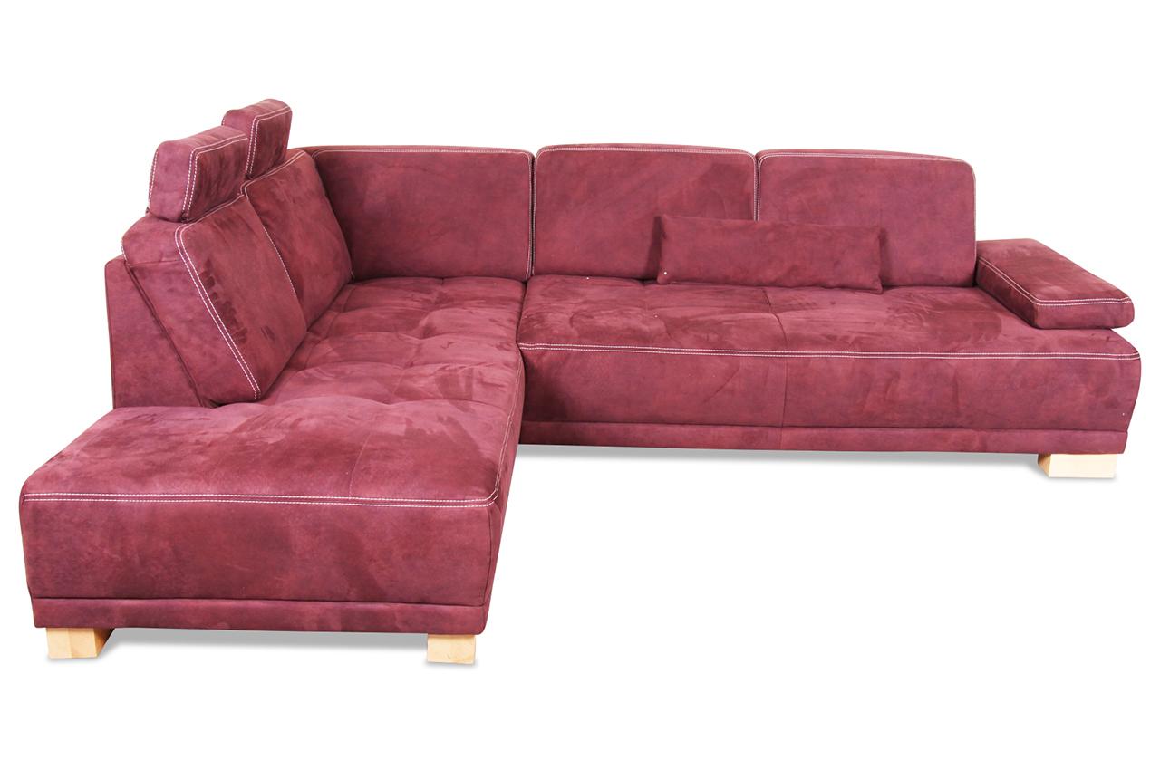 ecksofa xl violette mit federkern sofas zum halben preis. Black Bedroom Furniture Sets. Home Design Ideas