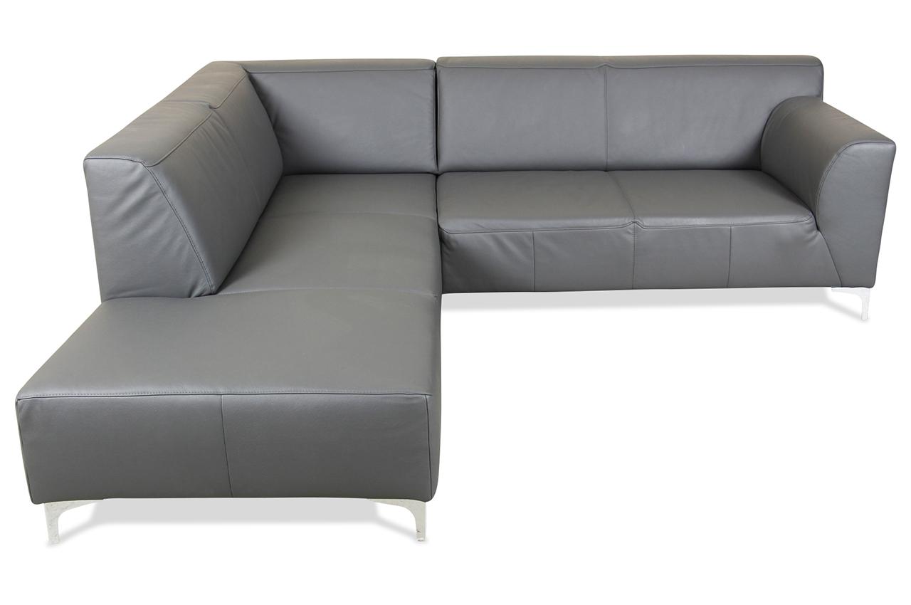 ada alina megaecke 7127 echt leder sofa couch ecksofa ebay. Black Bedroom Furniture Sets. Home Design Ideas