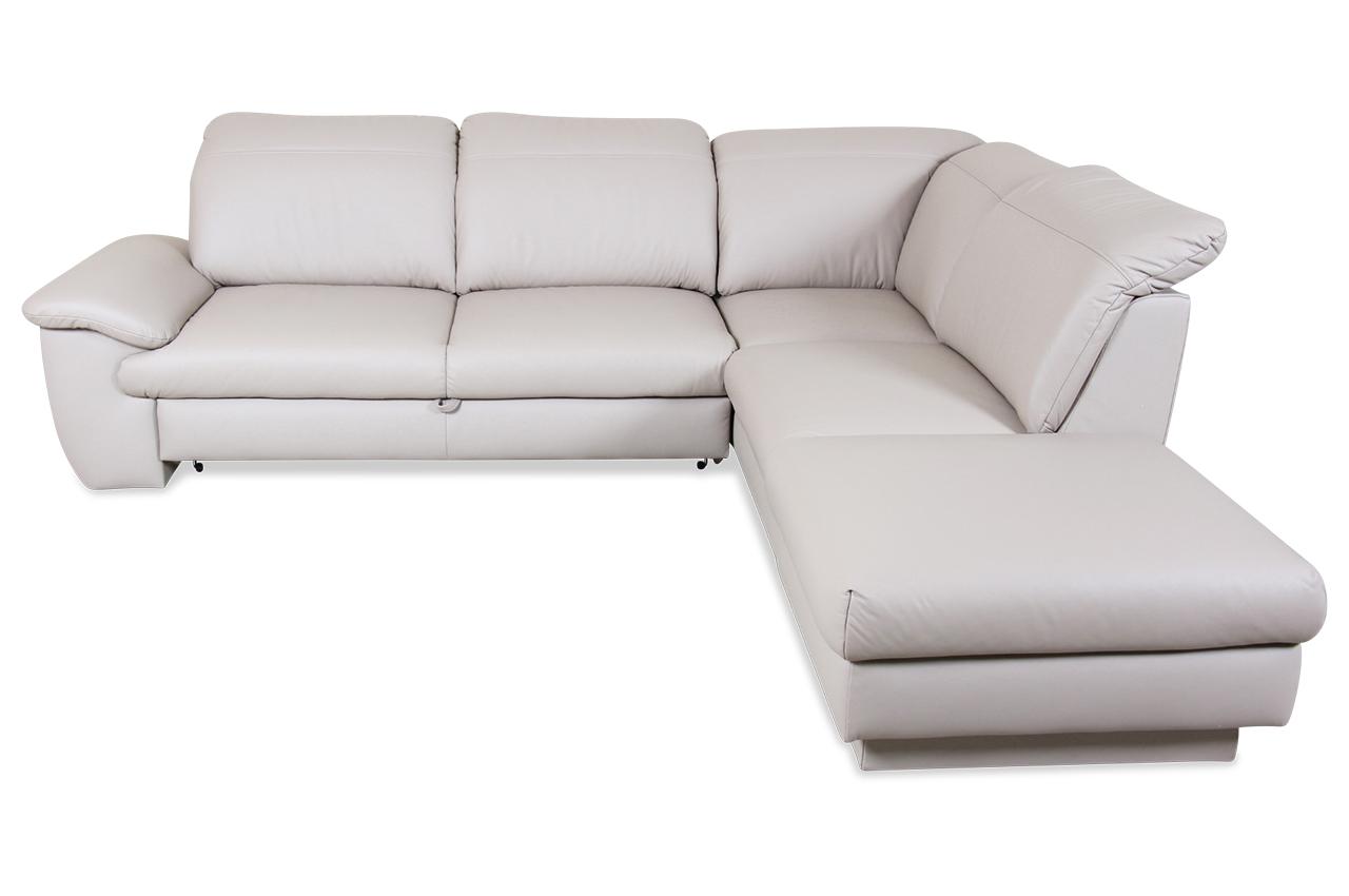 ada alina megaecke 7627 echt leder sofa couch ecksofa ebay. Black Bedroom Furniture Sets. Home Design Ideas