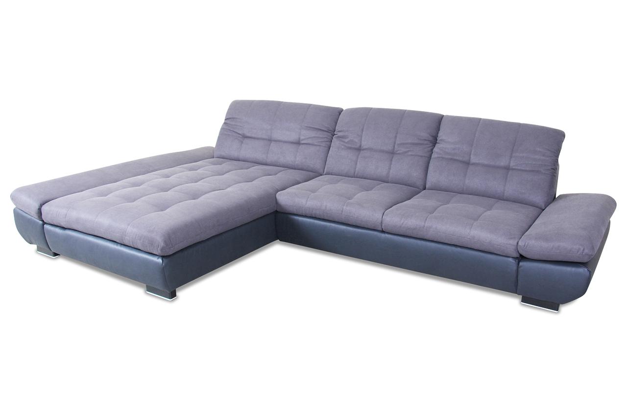 Ada alina ecksofa 7686 anthrazit mit federkern sofas for Ecksofa 2 00