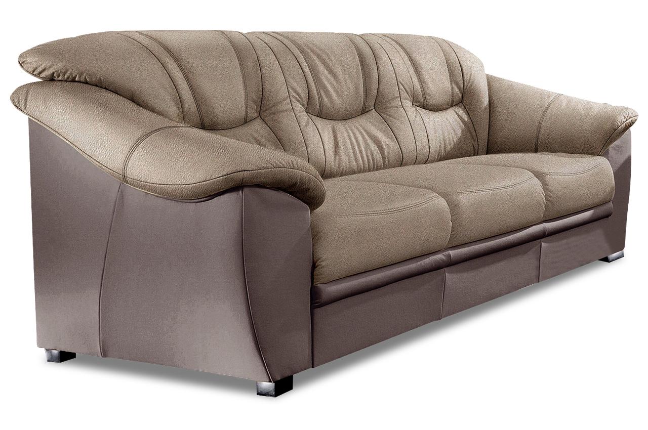 3er sofa savona mit schlaffunktion braun mit federkern sofas zum halben preis 3er sofa mit schlaffunktion
