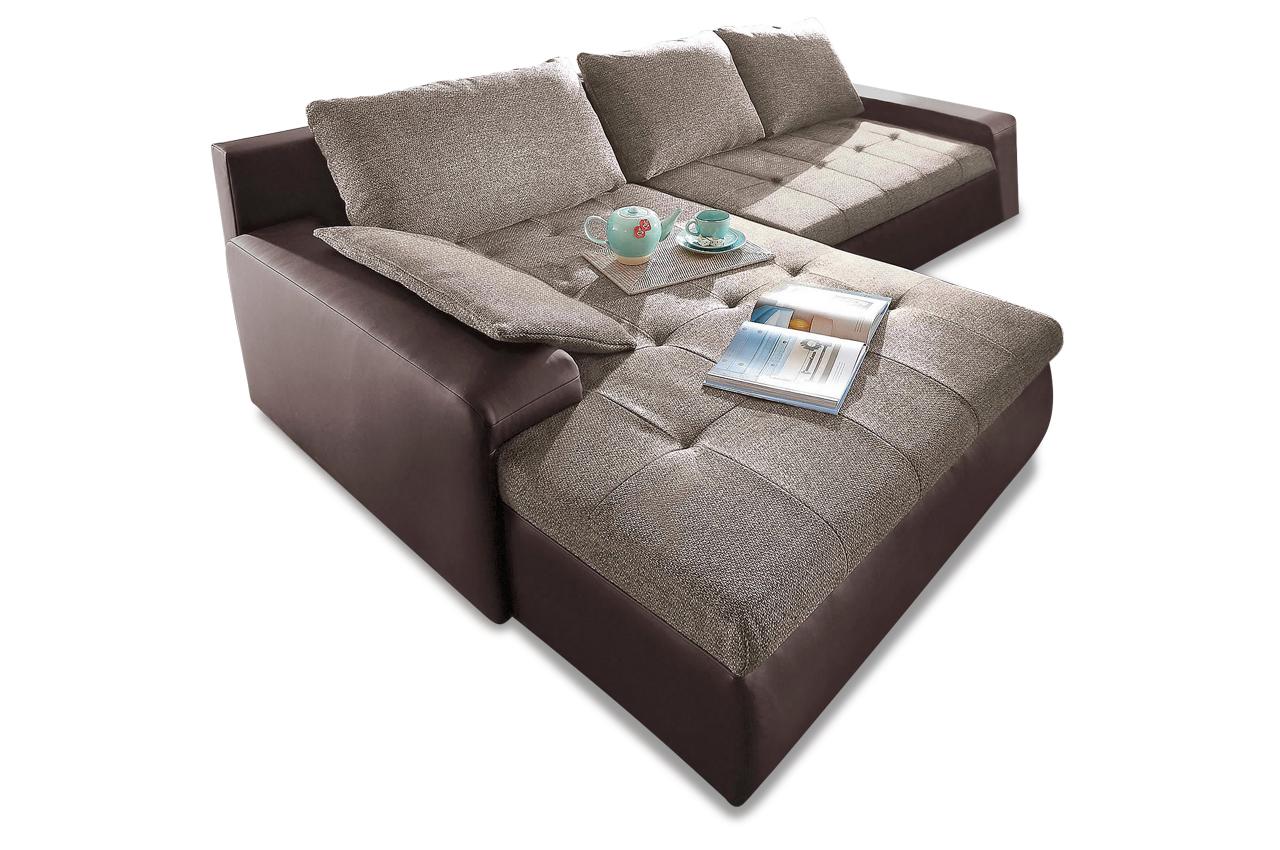Sit more polsterecke candy xl mit bett sofas zum halben for Ecksofa omnia 910 i