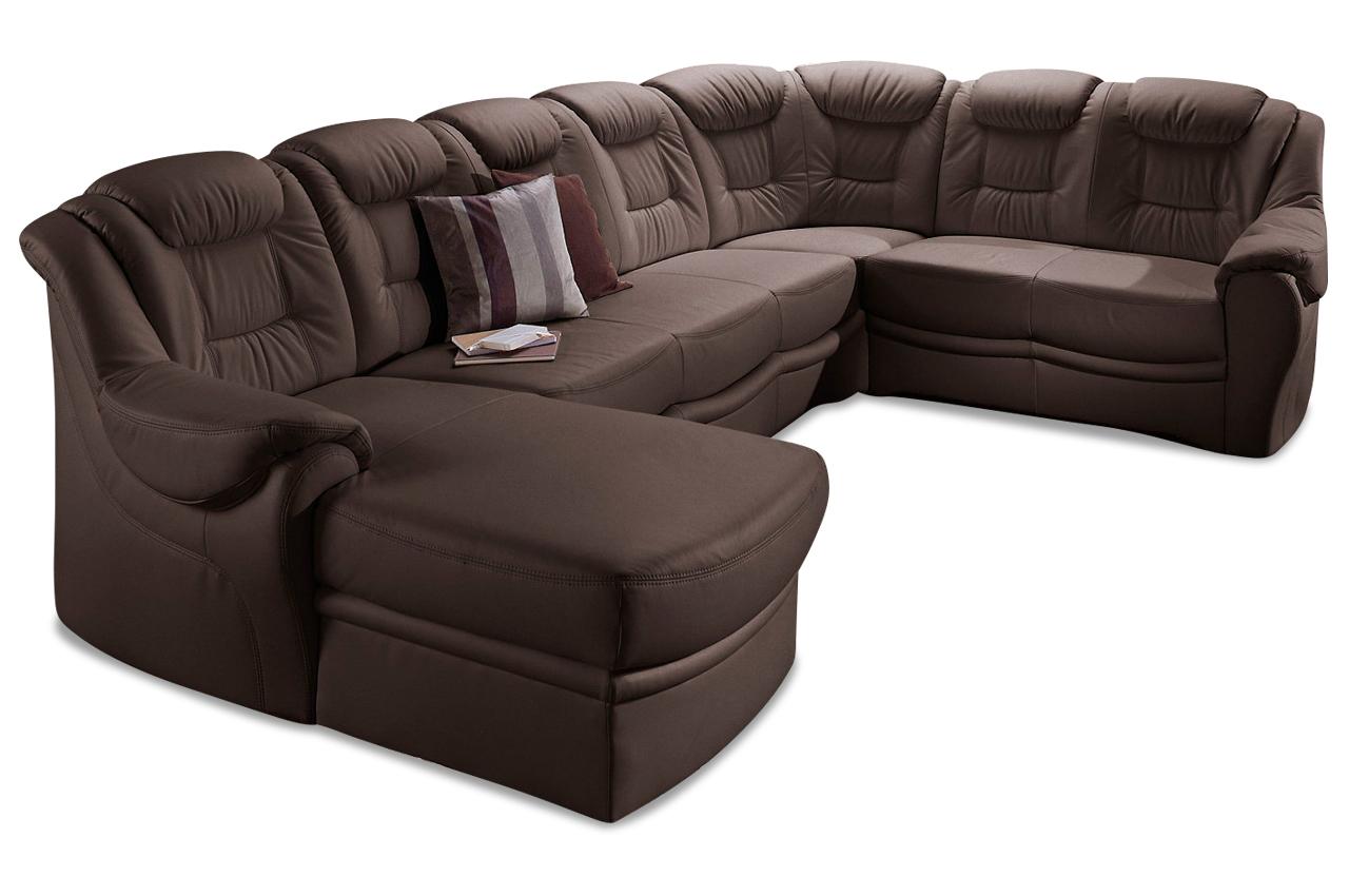 sit more wohnlandschaft bellevue mit schlaffunktion weiss mit federkern sofas zum halben preis. Black Bedroom Furniture Sets. Home Design Ideas