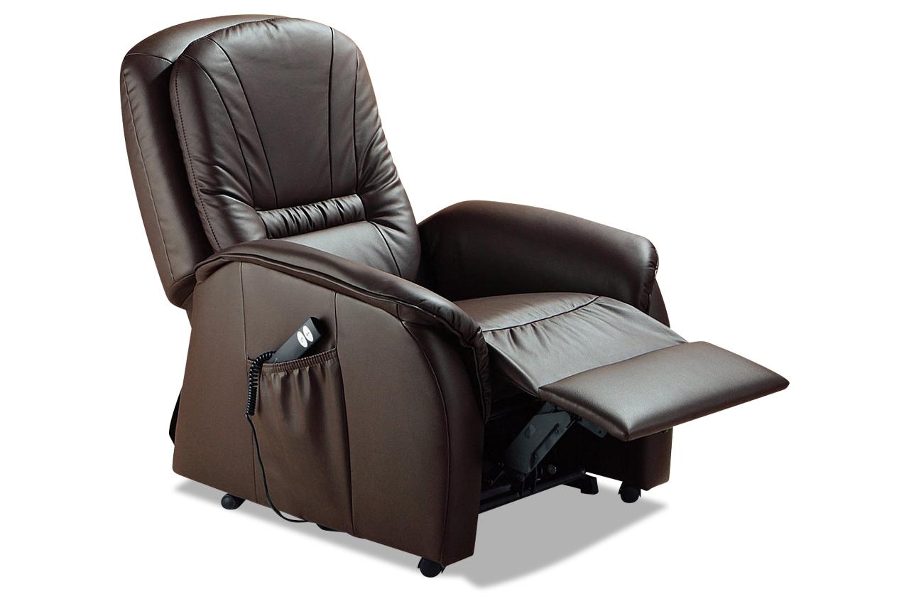 Fernsehsessel braun mit federkern sofas zum halben preis for Fernsehsessel braun