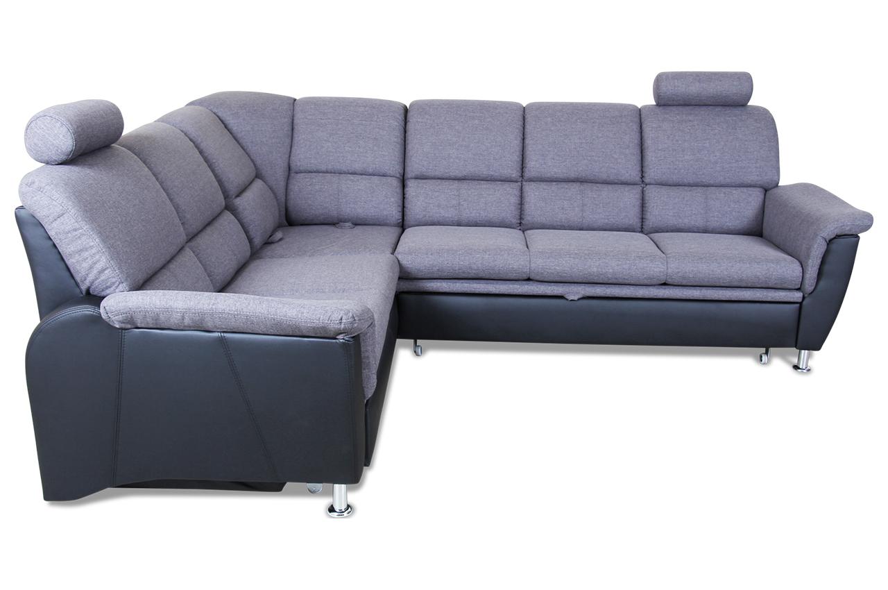 rundecke pisa mit schlaffunktion schwarz mit federkern sofas zum halben preis. Black Bedroom Furniture Sets. Home Design Ideas