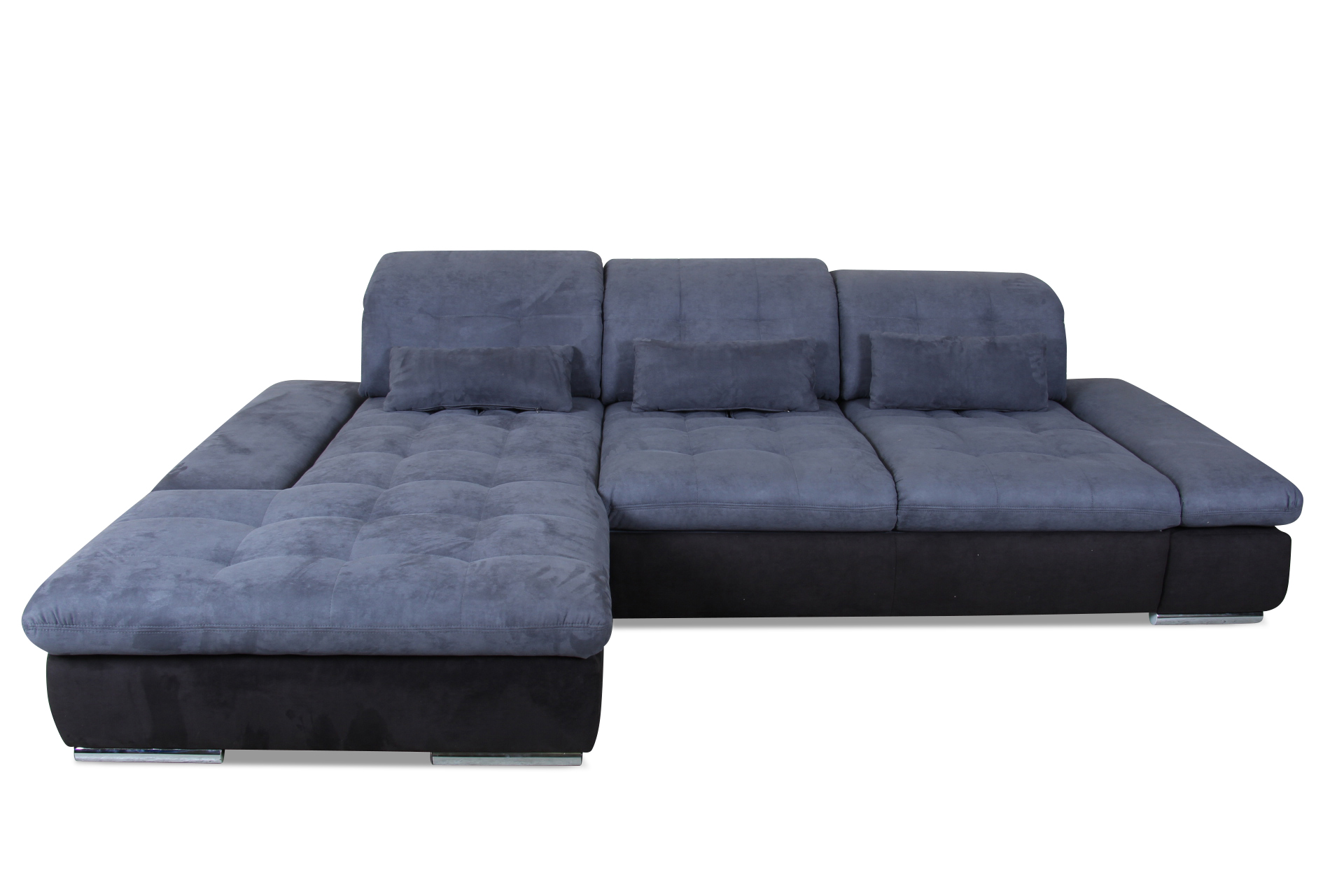 ecksofa blau mit federkern sofas zum halben preis. Black Bedroom Furniture Sets. Home Design Ideas