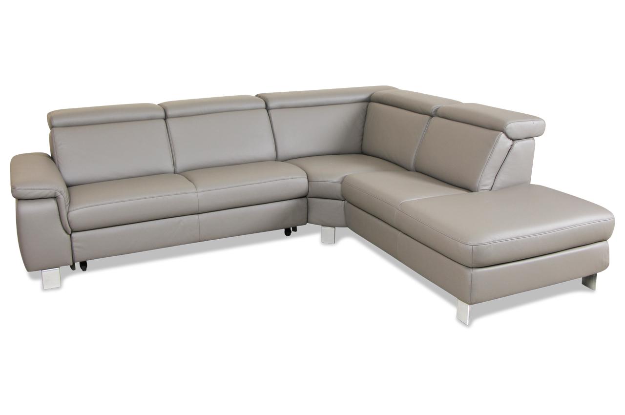 leder rundecke grau sofas zum halben preis