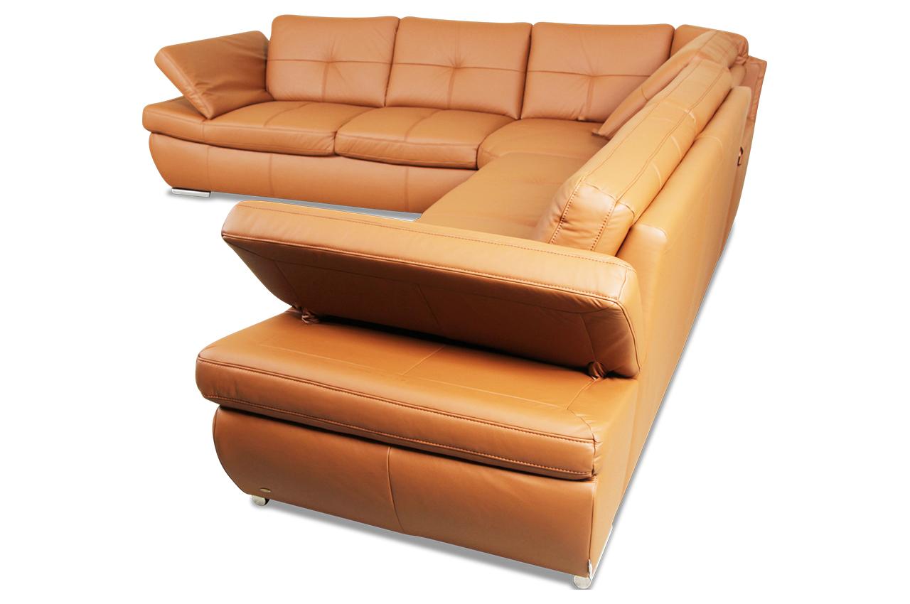 leder rundecke orange sofas zum halben preis. Black Bedroom Furniture Sets. Home Design Ideas
