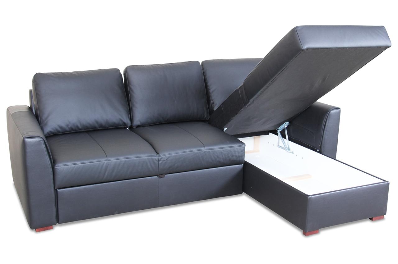 leder ecksofa moreno mit schlaffunktion grau mit federkern sofas zum halben preis. Black Bedroom Furniture Sets. Home Design Ideas