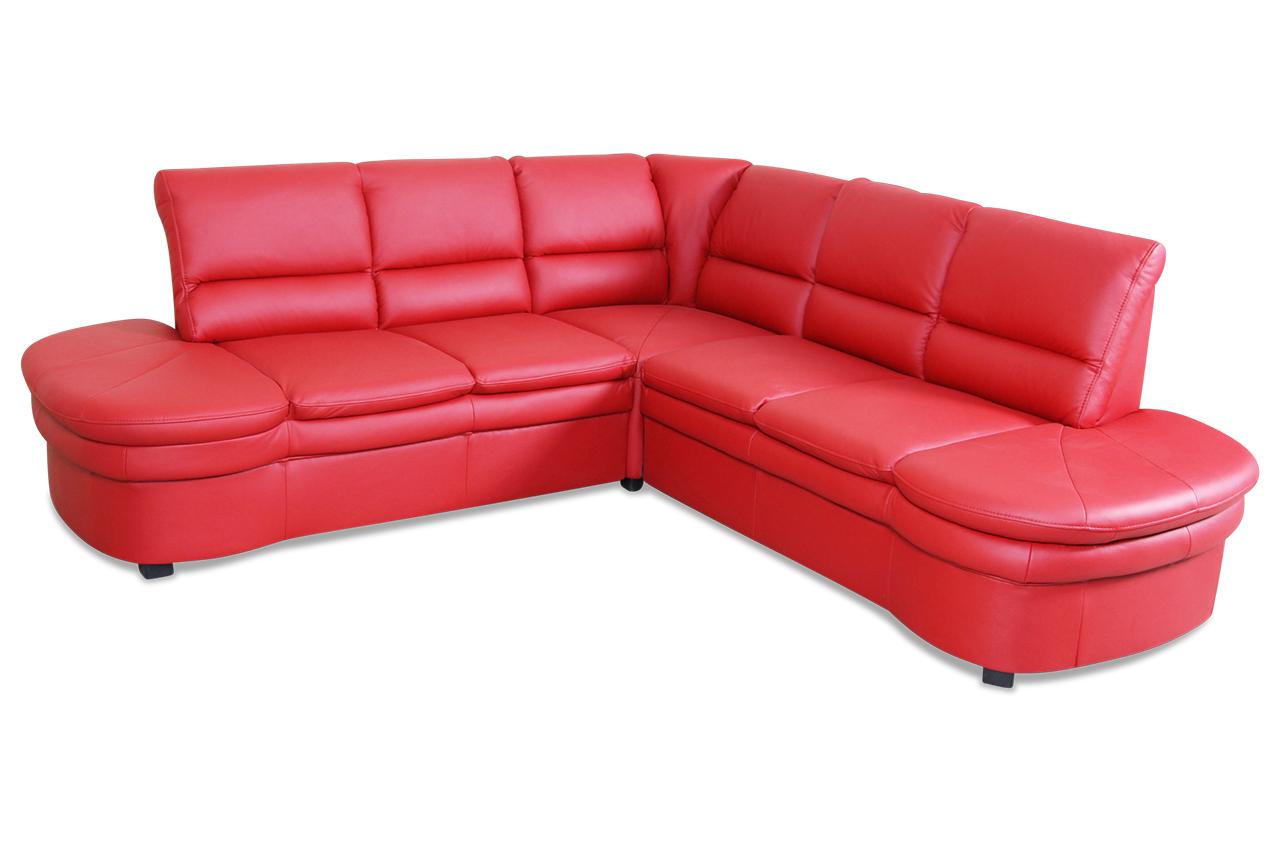 leder rundecke pink mit federkern sofas zum halben preis. Black Bedroom Furniture Sets. Home Design Ideas