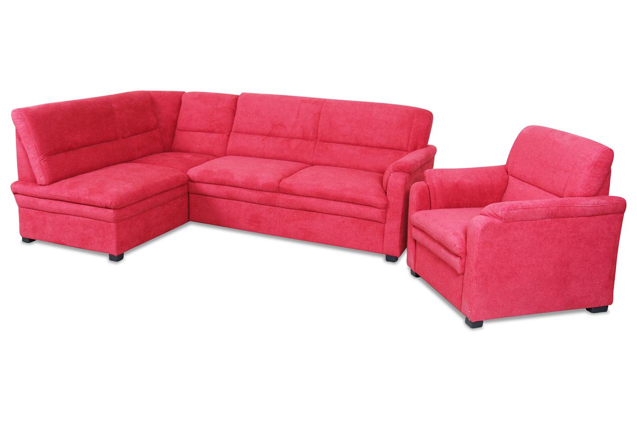 ecksofa rot mit federkern sofas zum halben preis. Black Bedroom Furniture Sets. Home Design Ideas