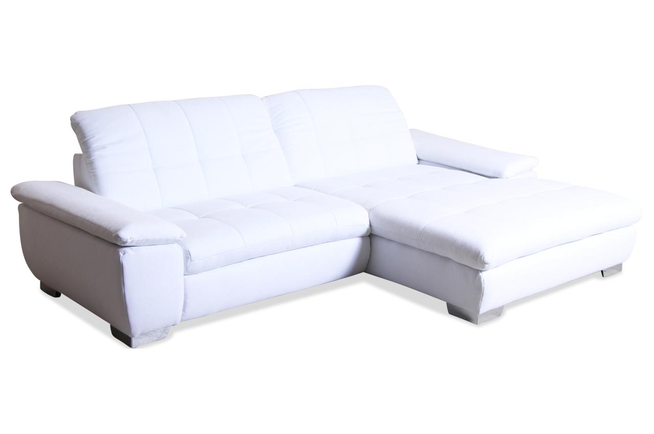 Ada alina ecksofa 7623 weiss sofas zum halben preis for Wohnlandschaft 7571