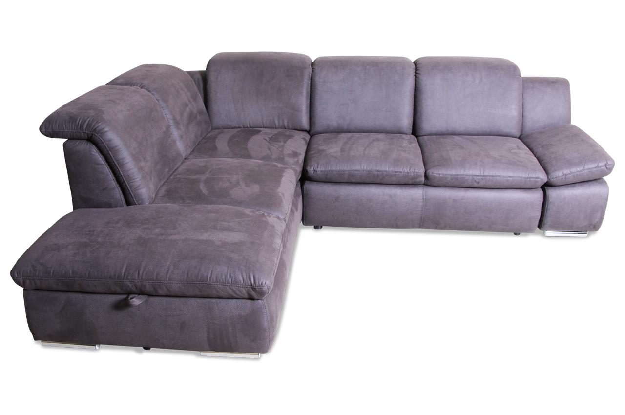ecksofa xl mit schlaffunktion anthrazit sofas zum halben preis. Black Bedroom Furniture Sets. Home Design Ideas