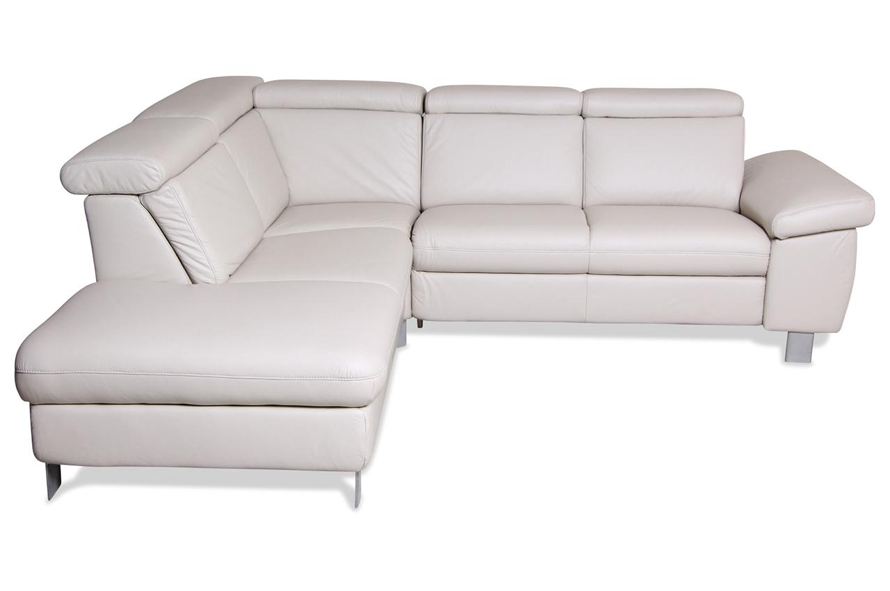 Leder Rundecke Creme Echt Leder Sofa Couch Ebay