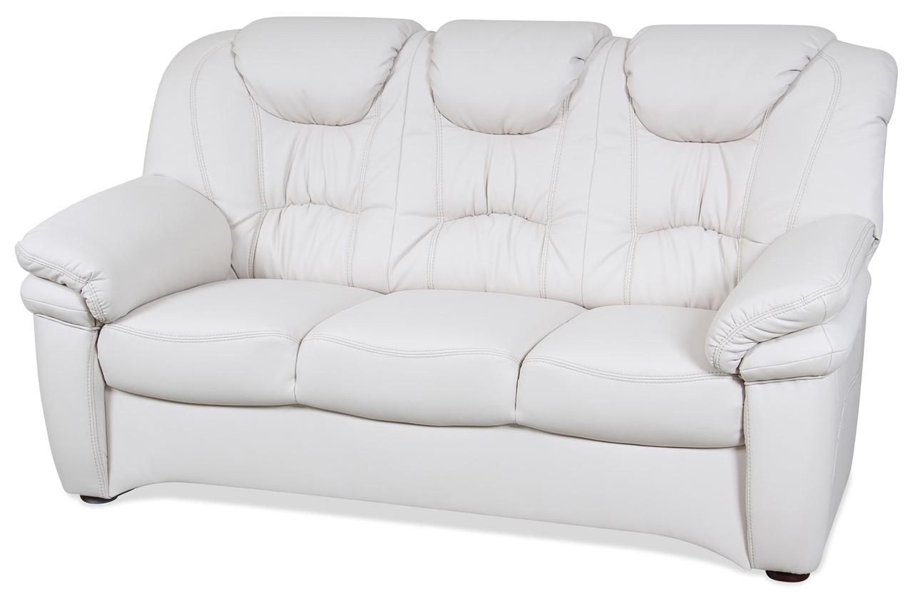 cotta 3er sofa conte creme mit federkern sofas zum halben preis. Black Bedroom Furniture Sets. Home Design Ideas