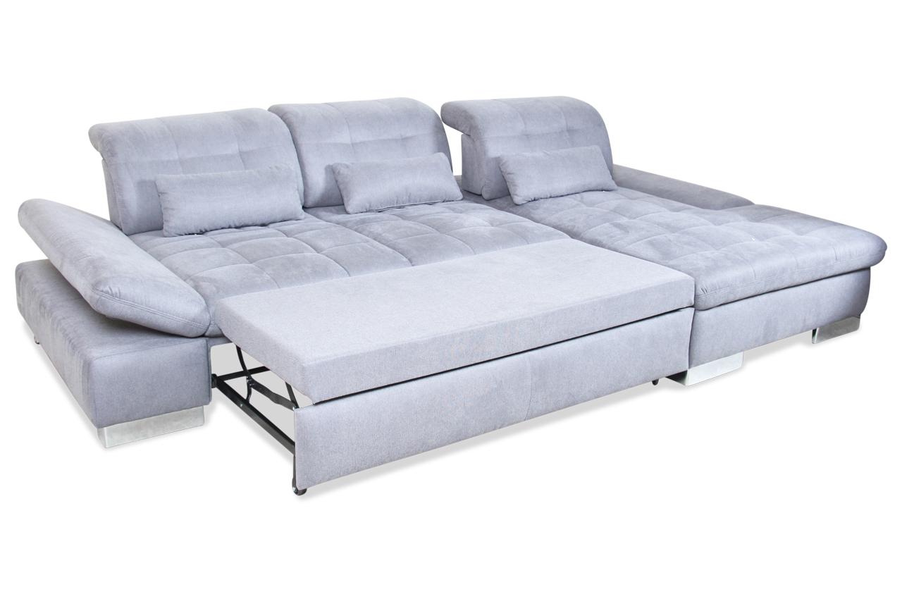 ecksofa mit schlaffunktion anthrazit mit federkern sofas zum halben preis. Black Bedroom Furniture Sets. Home Design Ideas