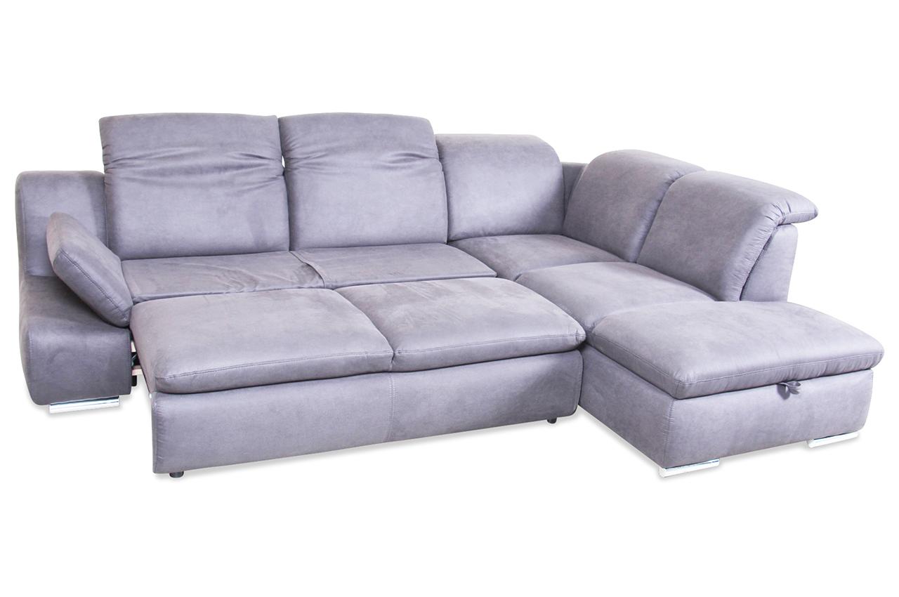 ecksofa xl mit schlaffunktion anthrazit mit federkern sofas zum halben preis. Black Bedroom Furniture Sets. Home Design Ideas