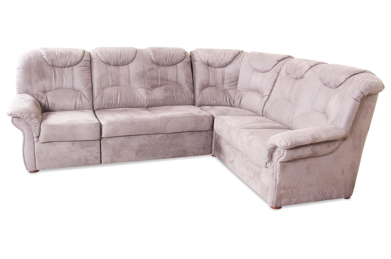 matex rundecke linus braun mit federkern sofa couch ecksofa. Black Bedroom Furniture Sets. Home Design Ideas